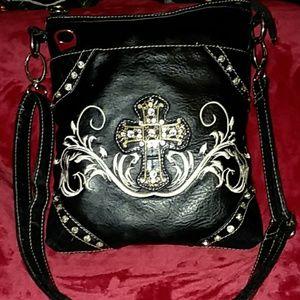 Black Crossbody Handbag